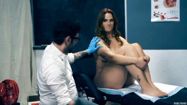 Deep hot Horny Pussy Exam By Doctor