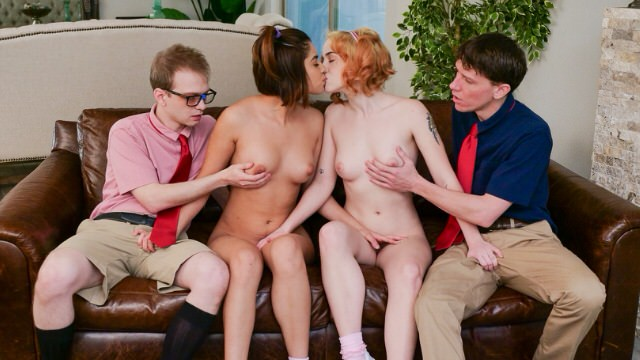 Switch own sister for sex with friend